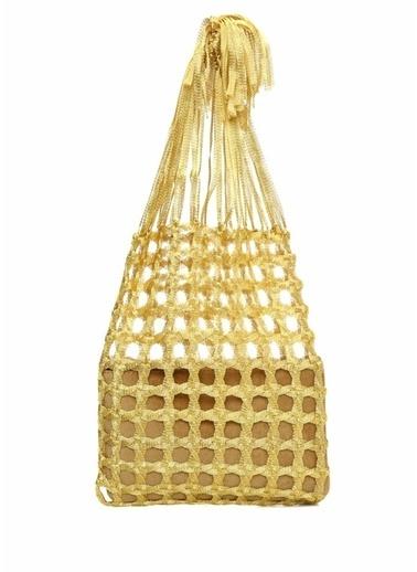Mehry Mu Omuz Çantası Altın